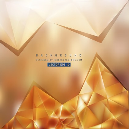 Free Brown Triangle Background Illustrator