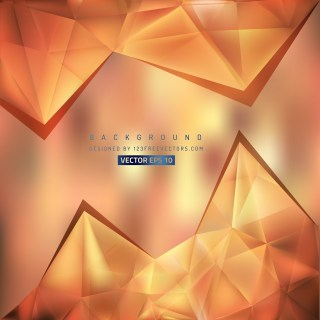 Free Brown Triangle Background Pattern Vector