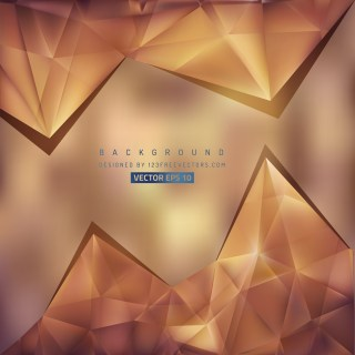 Free Brown Triangle Background Vector Art
