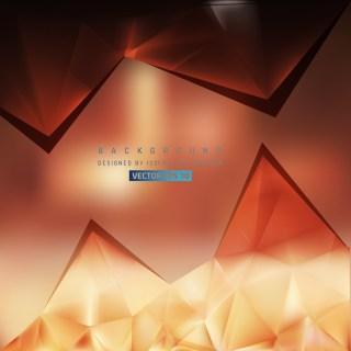 Free Dark Brown Triangle Background Pattern Vector Graphic