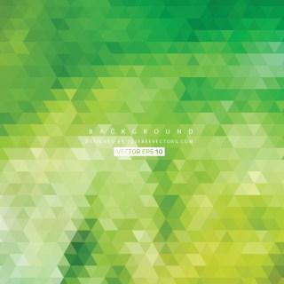 Free Green Triangle Background Pattern Illustrator