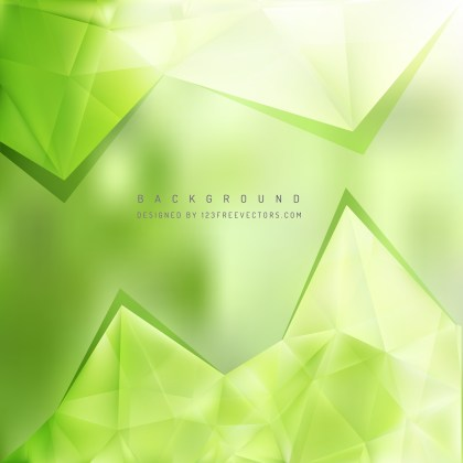Free Light Green Triangle Background Graphic