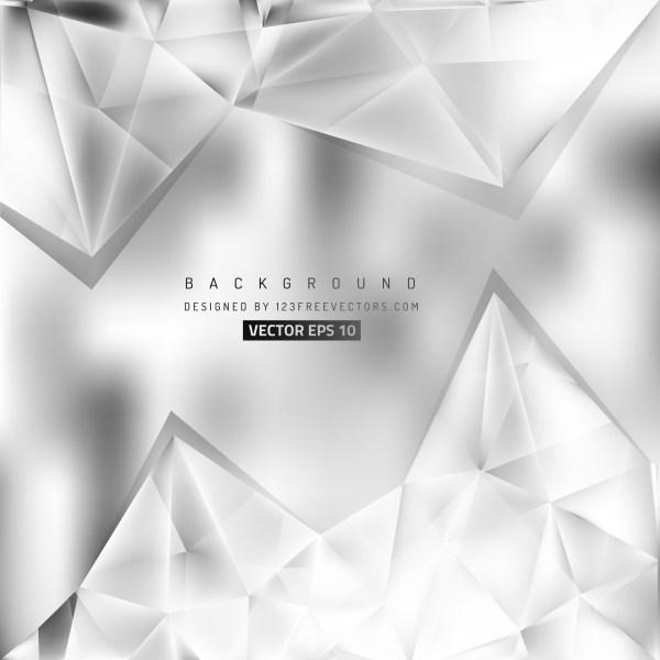 Free Bright Grey Triangle Background Illustrator