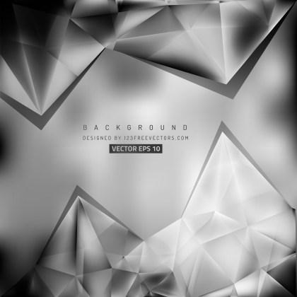 Free Dark Grey Triangle Background Pattern Vector