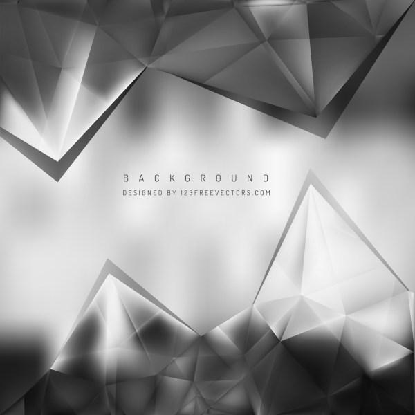 Free Dark Grey Triangle Background Vector Art