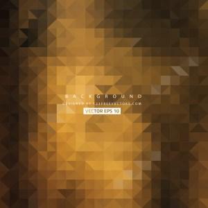 Free Dark Orange Triangle Background Pattern Graphic