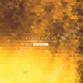 Free Orange Triangle Background Image