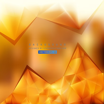 Free Orange Triangle Background Vector Image
