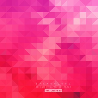Free Pink Triangle Background Pattern Illustrator