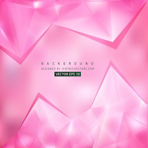 Free Pink Triangle Background Vector