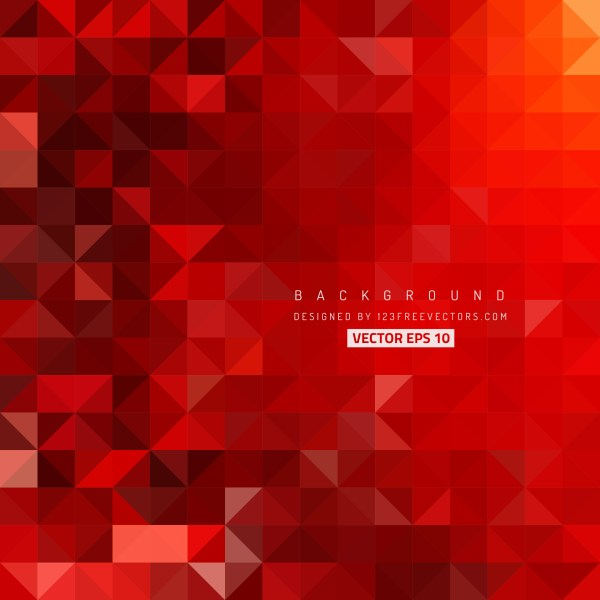 Free Dark Red Triangle Background Graphic