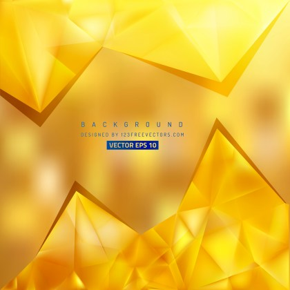 Free Gold Triangle Background Vector Graphic