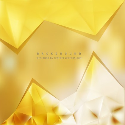 Free Yellow Triangle Background Image