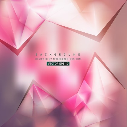 Free Light Color Triangle Background Graphic