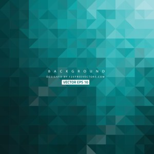 Free Black and Turquoise Triangle Background Illustrator