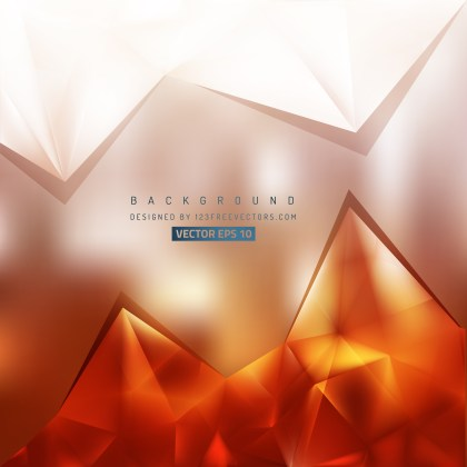 Free Orange and White Triangle Background Illustrator