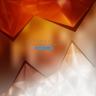Free Orange and White Triangle Background Pattern Graphic