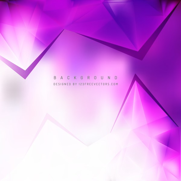 Free Purple and White Triangle Background Vector Image
