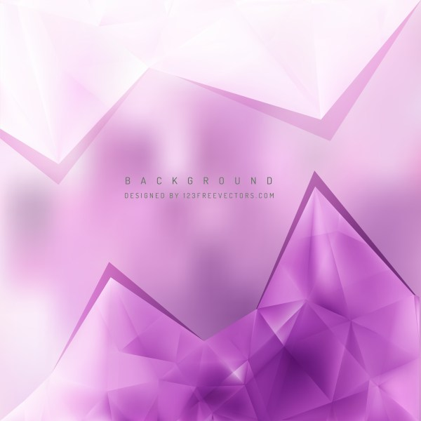 Free Purple and White Triangle Background Pattern Illustrator