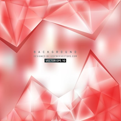 Free Red and White Triangle Background Graphic