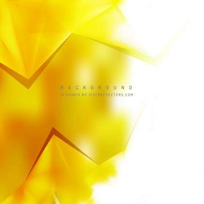 Free Yellow and White Triangle Background Pattern Image