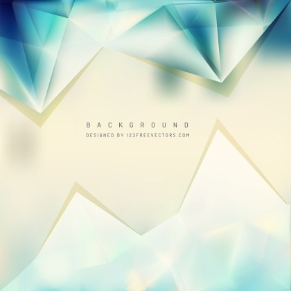 Free Beige and Turquoise Triangle Background Illustrator