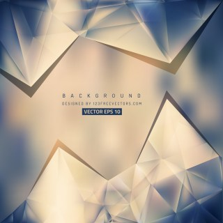 Free Blue and Brown Triangle Background Pattern Vector