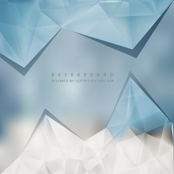 Free Blue and Grey Triangle Background Pattern Graphic
