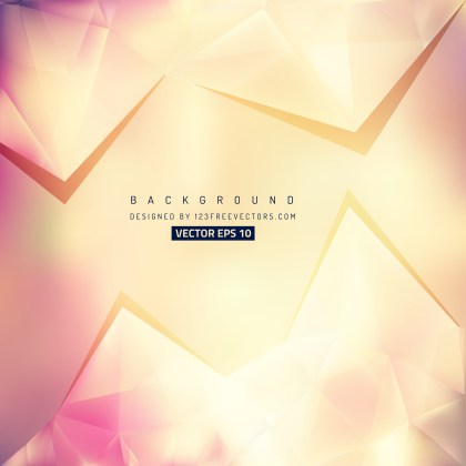 Free Pink and Beige Triangle Background Image