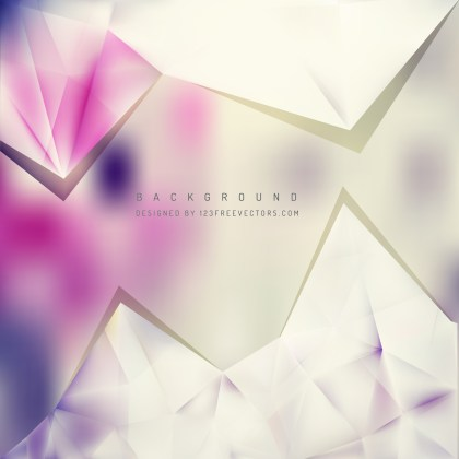 Free Purple and Beige Triangle Background Vector