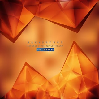 Free Red and Orange Triangle Background Pattern Image