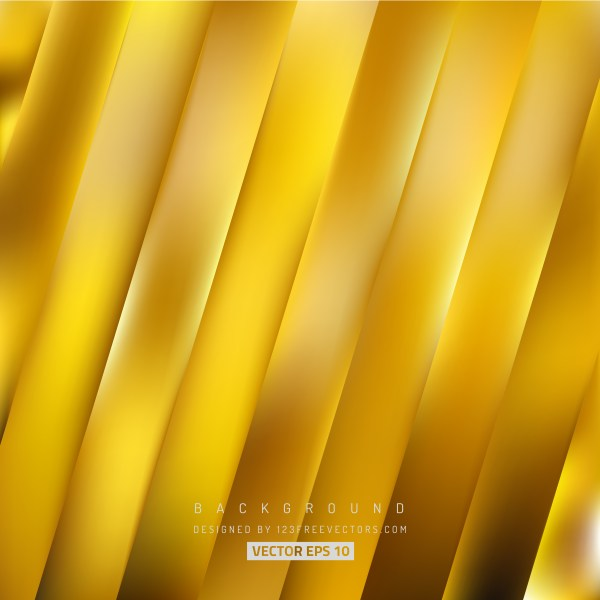 Free Abstract Gold Diagonal Striped Background Vector
