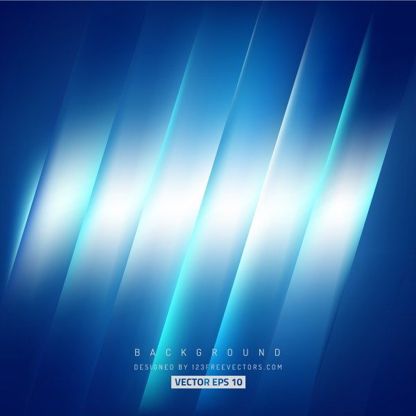 Free Abstract Blue and White Diagonal Stripes Background Image