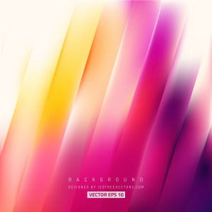 Free Abstract Pink Yellow and White Diagonal Striped Background Vector