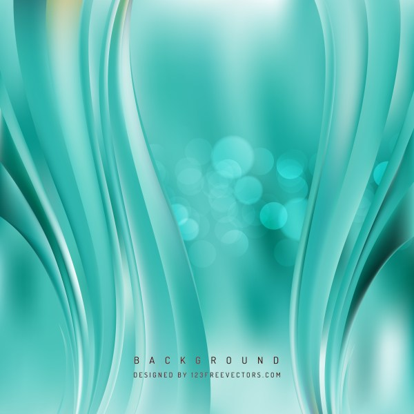 Free Turquoise Vertical Wavy Background Vector