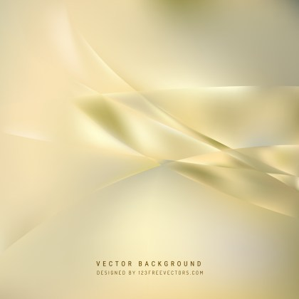 Free Abstract Beige Wavy Background Vector