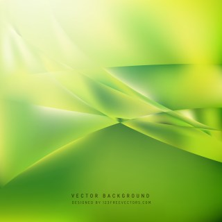 Free Abstract Green Wave Background Graphic