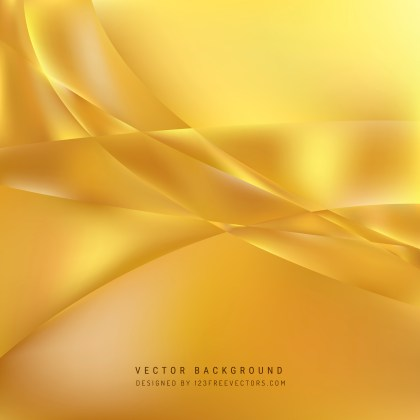 Free Abstract Gold Wave Background Template Graphic