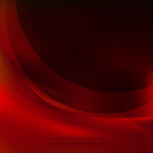 Free Red and Black Wave Background Template Image