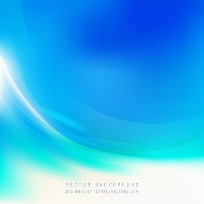 Free Abstract Blue and White Wavy Background Vector