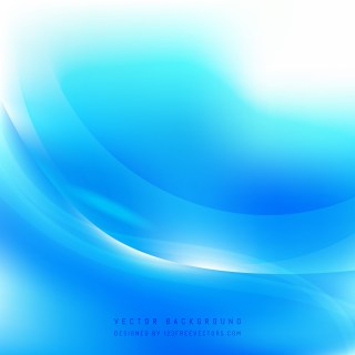Free Abstract Blue and White Wave Background Template Graphic