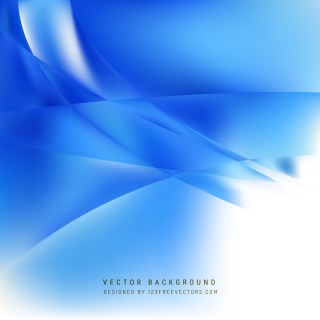 Free Blue and White Wave Background Image
