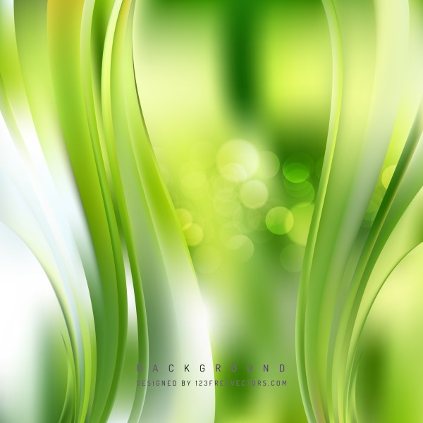 Free Green and White Vertical Wavy Background Vector