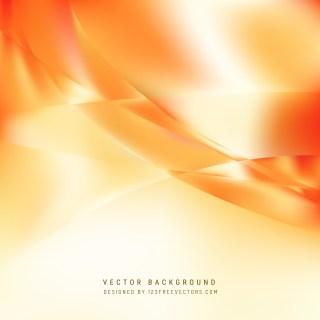 Free Orange and White Wavy Background Illustrator