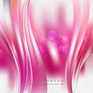 Free Abstract Pink and White Vertical Wave Background Template Vector