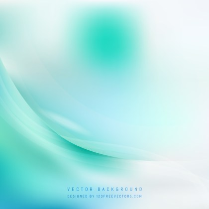 Free Turquoise and White Wavy Background Graphic