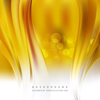 Free Abstract White and Gold Vertical Wave Background Template Image
