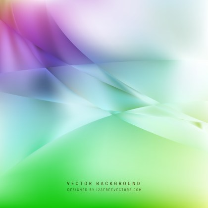 Free Purple and Green Wave Background Template Vector