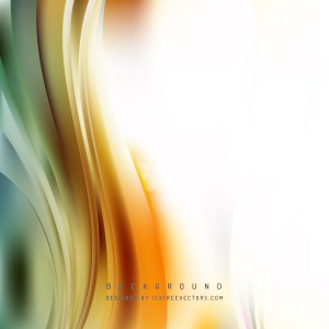 Free Abstract Orange White and Green Vertical Wavy Background Graphic