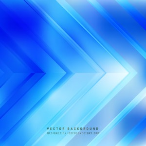 Free Abstract Blue Arrow Background Graphic